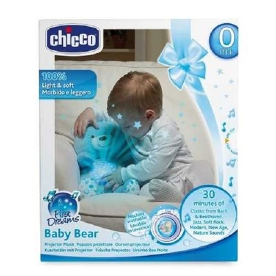Chicco first dreams beer projector blauw