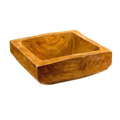 House of Nature Schaal hout Rustic 25cm