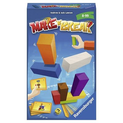 Ravensburger Make 'n Break - Pocketspel