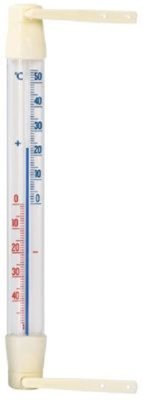 Dr.F raamthermometer pl wit 20cm